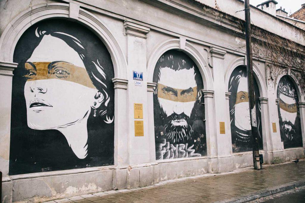 Visiter le quartier juif et faire un parcourt de street art à Kazimierz. credit photo : Clara  Ferrand - blog Wildroad