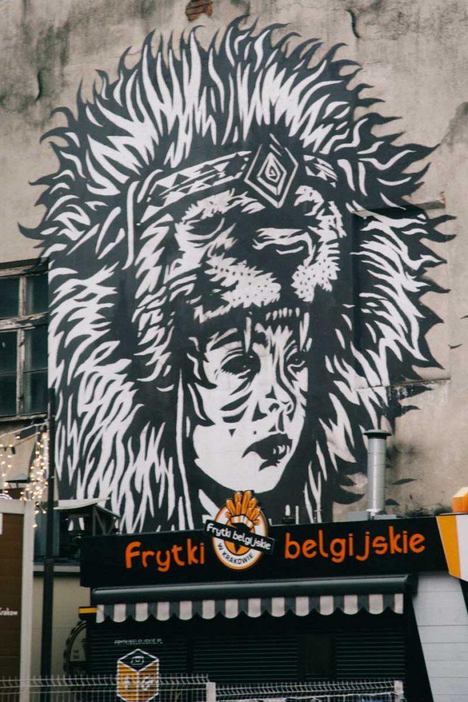 Le quartier branché de Kazimierz et ses food truck. credit photo : Clara Ferrand - blog Wildroad