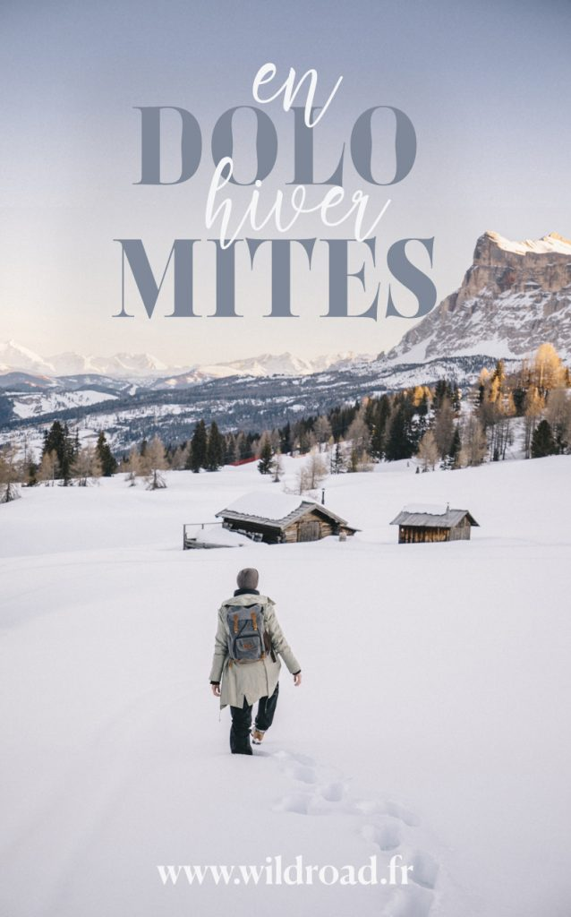 Toutes mes bonnes adresse pour un road trip hivernal réussit dans les Dolomites. Vivez l'aventure dans les alpes italienne du Sud Tirol. crédit photo : Clara Ferrand - blog Wildroad #italie #dolomites #sudtirol #southtirol #travelblog
