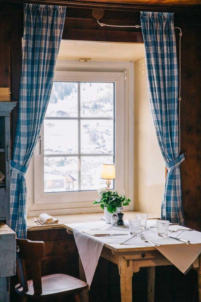 Berghotel, le plus ancien restaurant de Corvara dans les Dolomites. crédit photo : Clara Ferrand