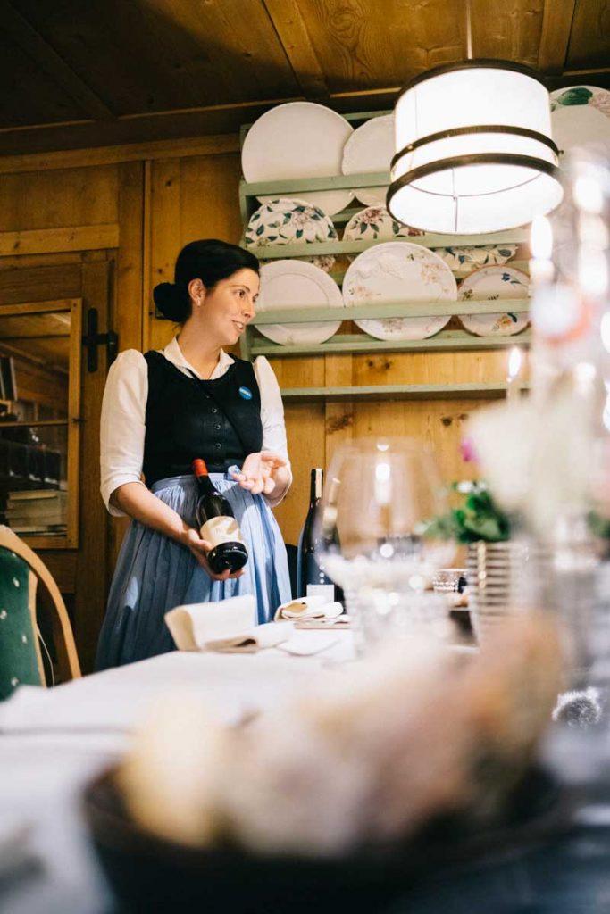 Les bonnes adresse pour dîner dans les Dolomites. Credit photo : Clara Ferrand - blog Wildroad