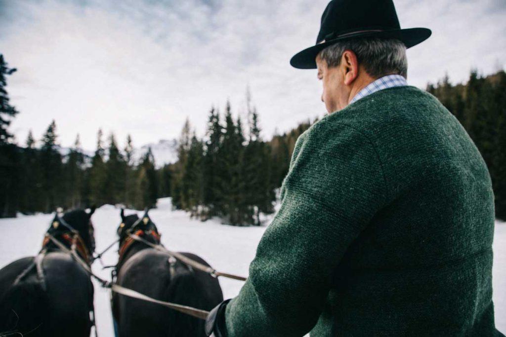 les activités hivernales à faire dans les Dolomites lors d'un road trip. crédit photo : Clara Ferrand