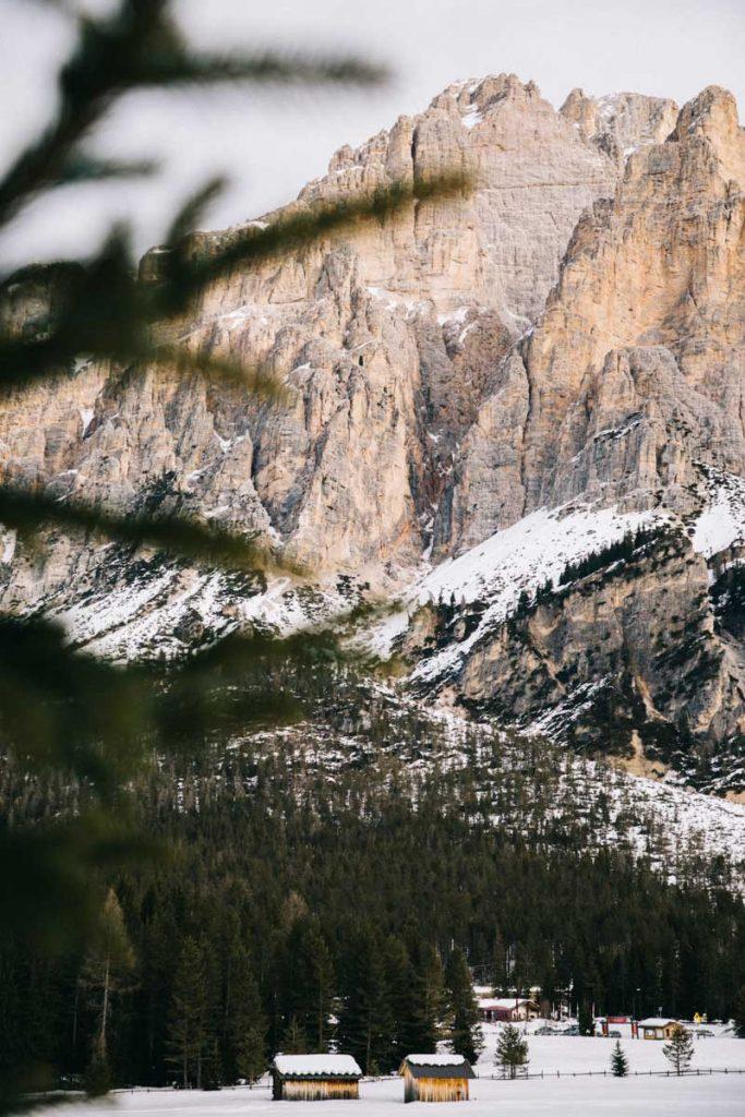 la vallée d'Alta Badia dans le South Tirol au nord de l'Italie. crédit photo : Clara Ferrand