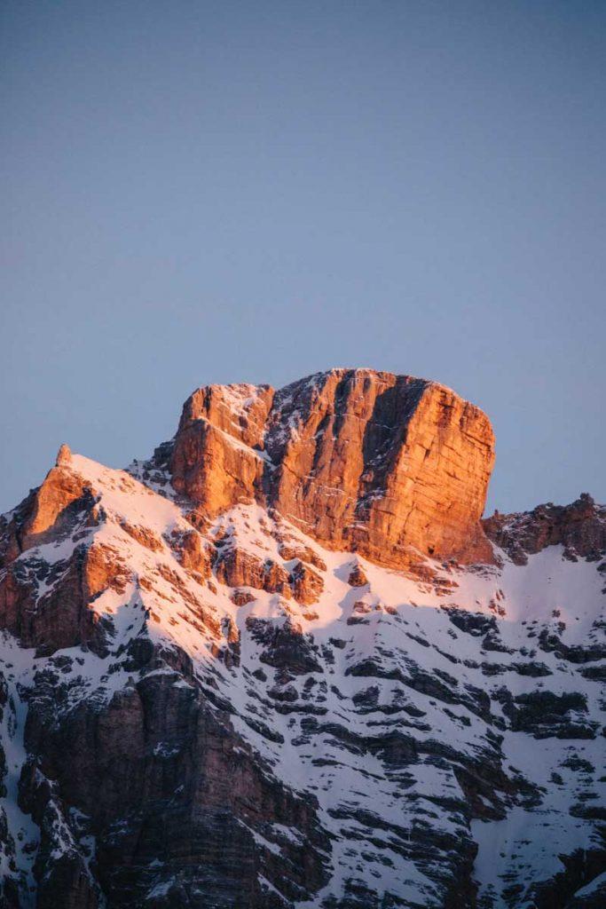 Les plus belles montagnes des Dolomites dans la région du South Tirol. credit photo : Clara Ferrand - blog Wildroad