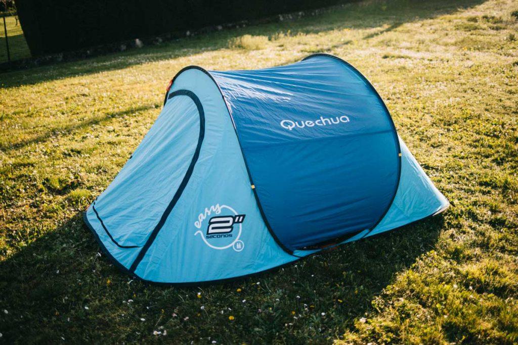 L'ancienne tente 2 seconde de chez Quechua, un modèle de 2007