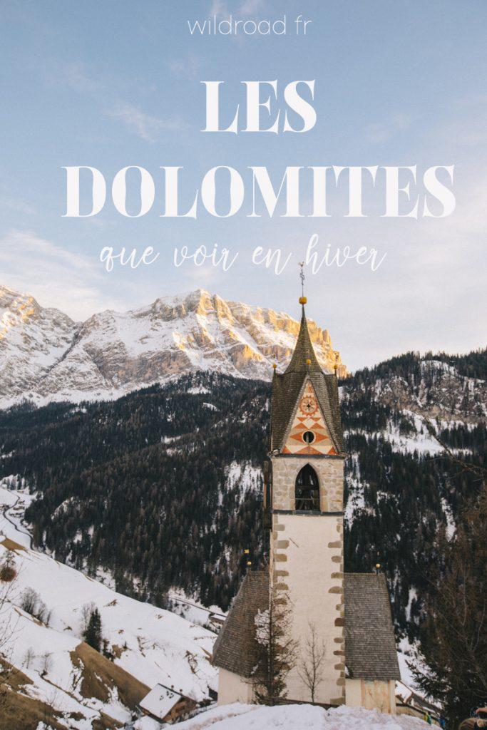 Les plus beaux lieux à voir dans les Dolomites lors d'un road trip en hiver. 15 activité à faire lors de votre voyage : descente en luge, raquette, dîner dans une maison traditionnelle. crédit photo : Clara Ferrand. #sudtirol #southtirol #dolomites #italie #italia #travelblogueur