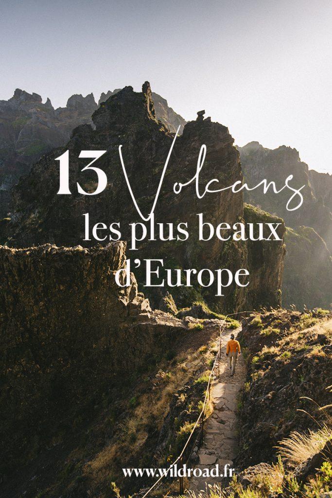 Les 13 plus beaux volcans d'Europe à Visiter  : de l'Islande à la Sicile en passant par la France. crédit photo : Clara Ferrand #volcan #europe #voyage #travelblog #stromboli #auvergne #etna #tenerife