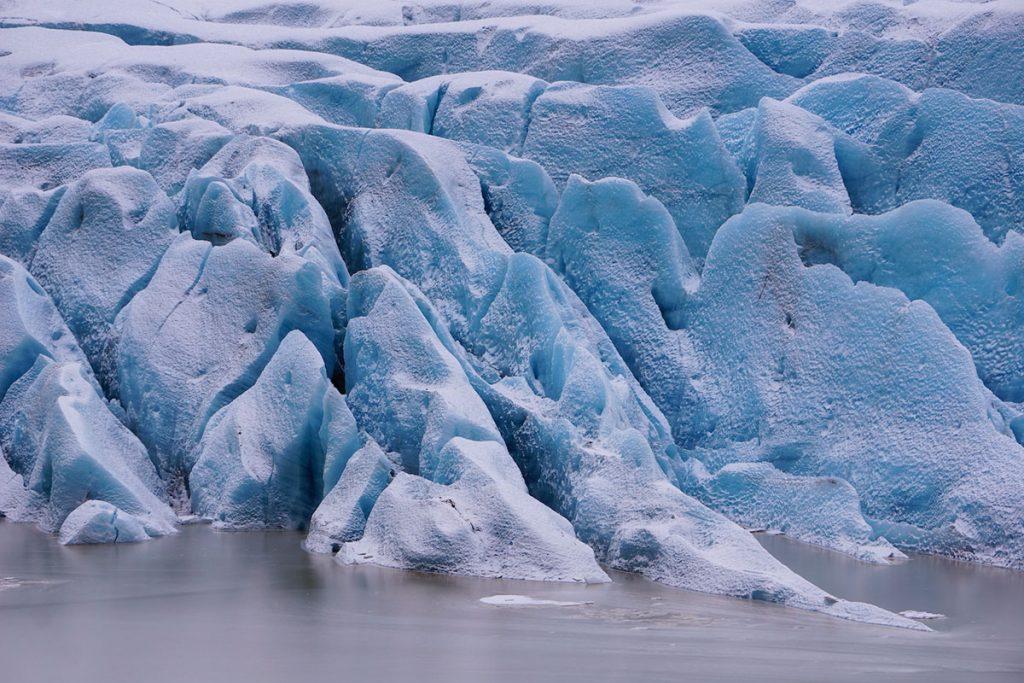 Vatnajokull une calotte glacière et ses 10 volcans au sud de l'Islande. crédit photo : Perspective de voyage