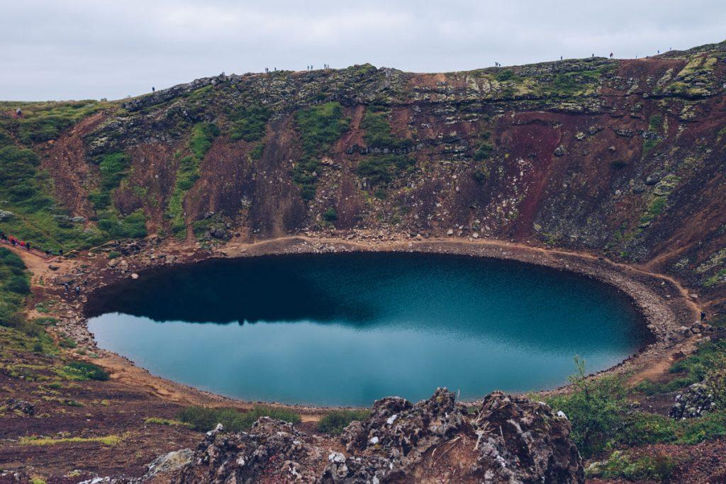 volcan kerio en Islande. crédit photo : Refuse to hibernate