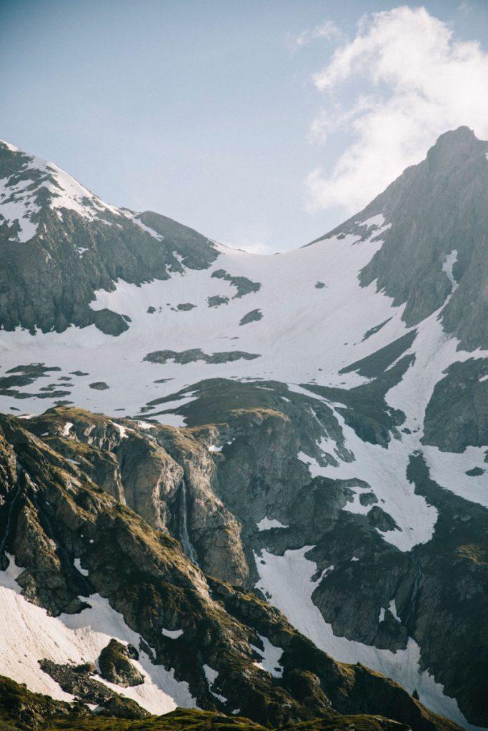 Les alpes Française et ses plus beaux paysages dans les Écrins. crédit photo : Clara Ferrand - blog Wildroad