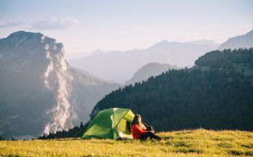La tente de trek modulable parfaite pour cet été. crédit photo : Clara Ferrand - blog Wildroad