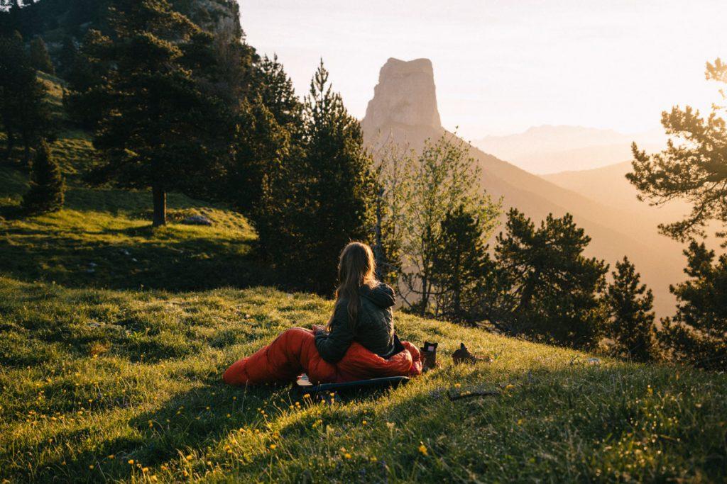 Où faire un bivouac dans le Vercors ? mes conseils pour faire un camping sauvage dans la réserve naturelle. crédit photo : Clara Ferrand - blog Wildroad