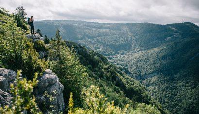 Randonnée de 4 jours dans le massif du Jura.