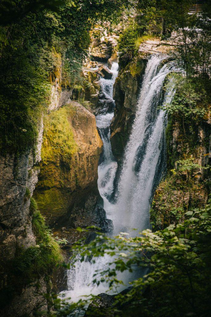 Les gorges de la langouette à Planche-les-montagnes dans le Haut Jura. crédit photo : Clara Ferrand - blog Wildroad