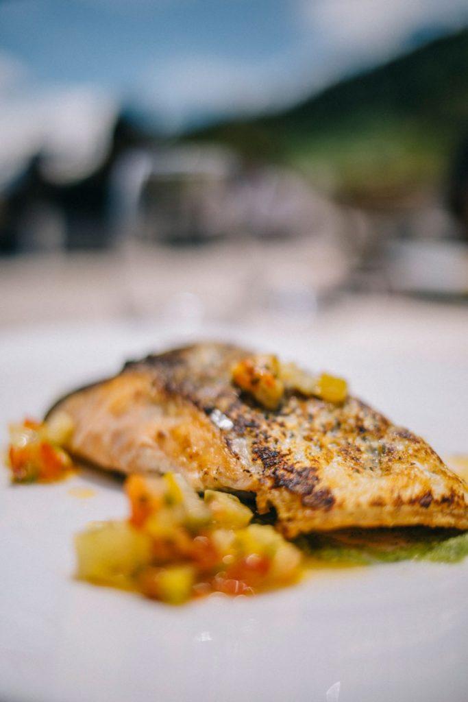 Le menu randonneur au restaurant du refuge de la Traye à Meribel. crédit photo : Clara Ferrand - blog Wildroad #savoie #refugedelatraye