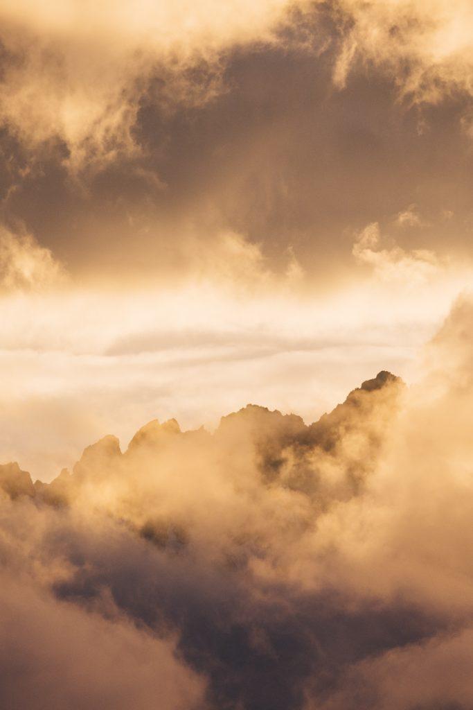Paysage de alpes françaises du nord. crédit photo : Clara Ferrand - blog Wildroad