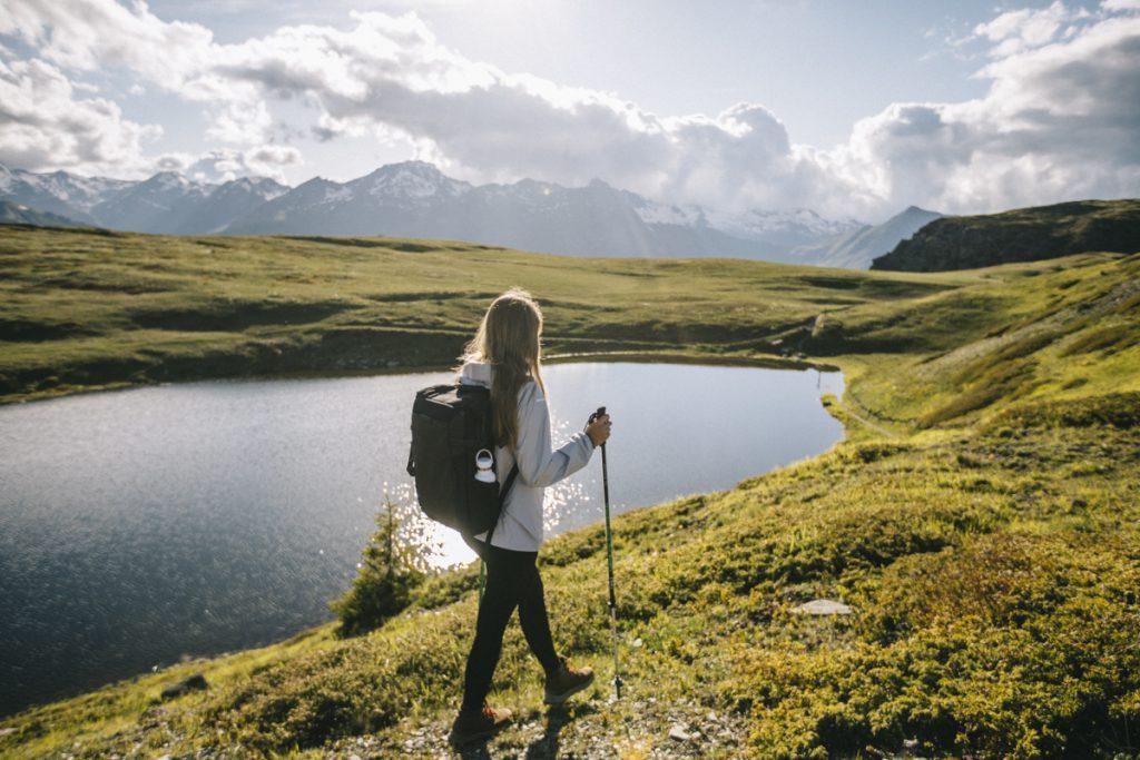 La randonnée du grand lac en boucle par la croix de Jean-Claude. Crédit photo : Clara Ferrand - blog Wildroad