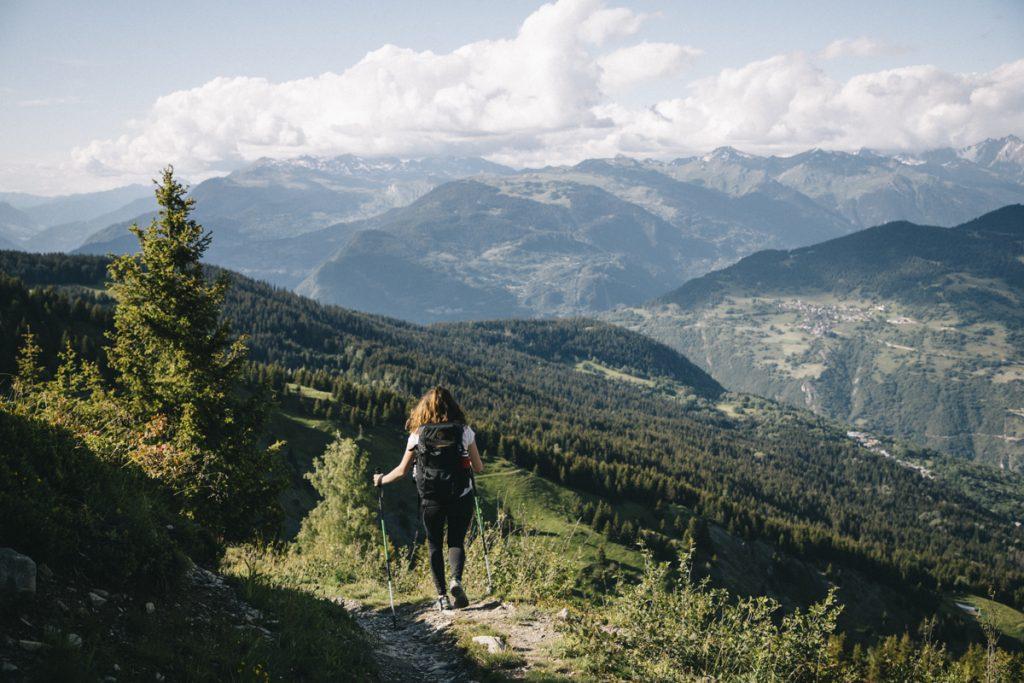 Les randonnée sà faire autour de Meribel lors d'un week-end en Savoie. crédit photo : Clara Ferrand - blog Wildroad