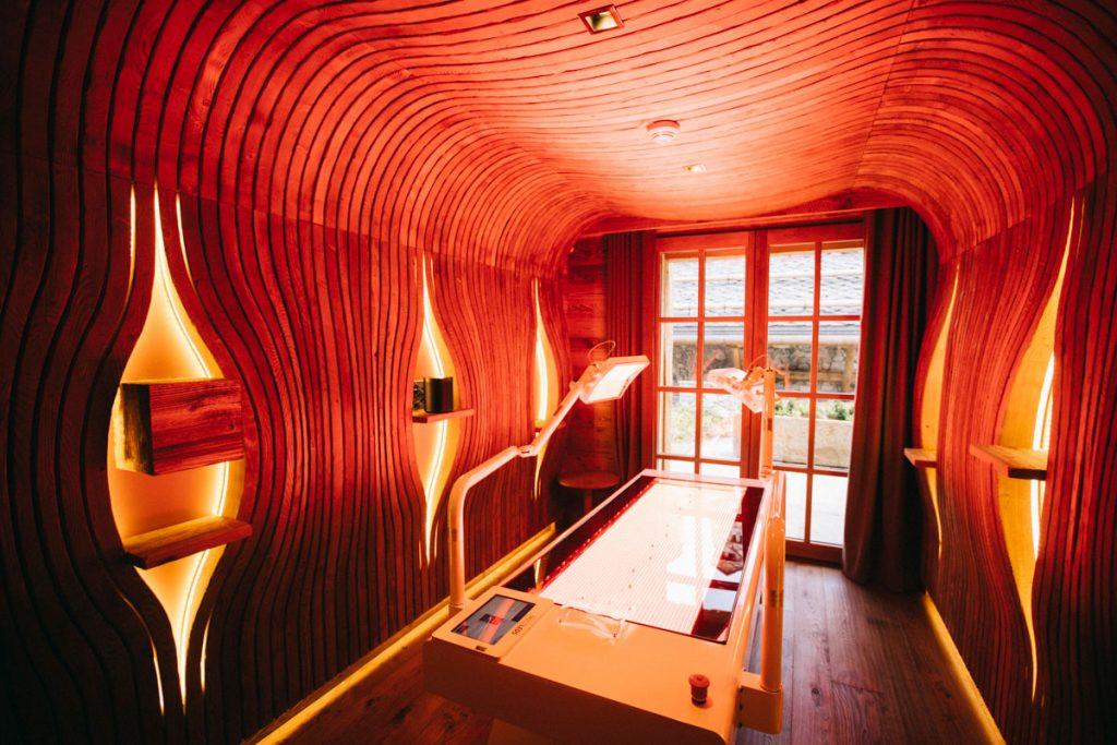 Les soins en phytothérapie proposé au spa du refuge de la Traye. crédit photo : Clara Ferrand - blog Wildroad