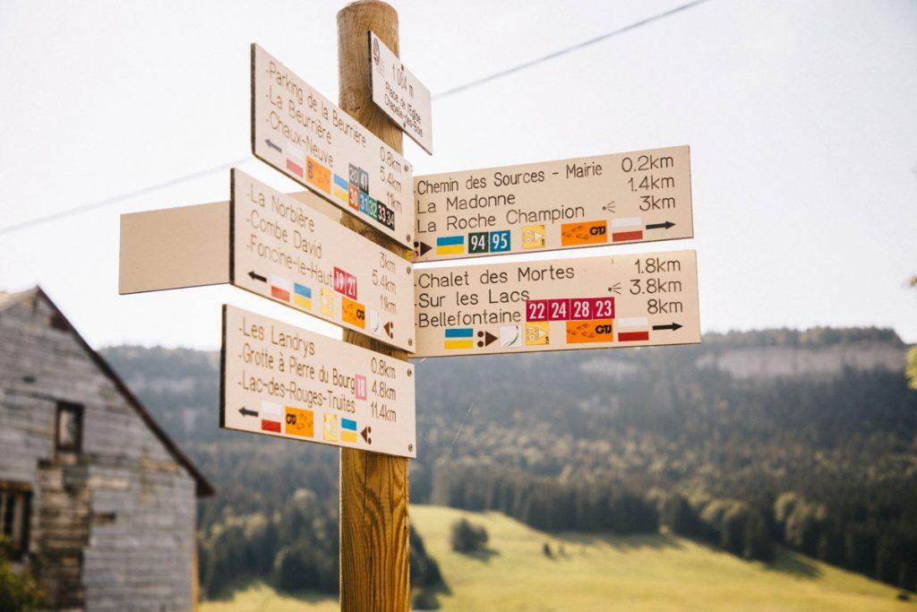 Quel trek choisir dans le Jura : échappée jurassienne ou grande traversée du jura ? crédit photo : Clara Ferrand - blog Wildroad