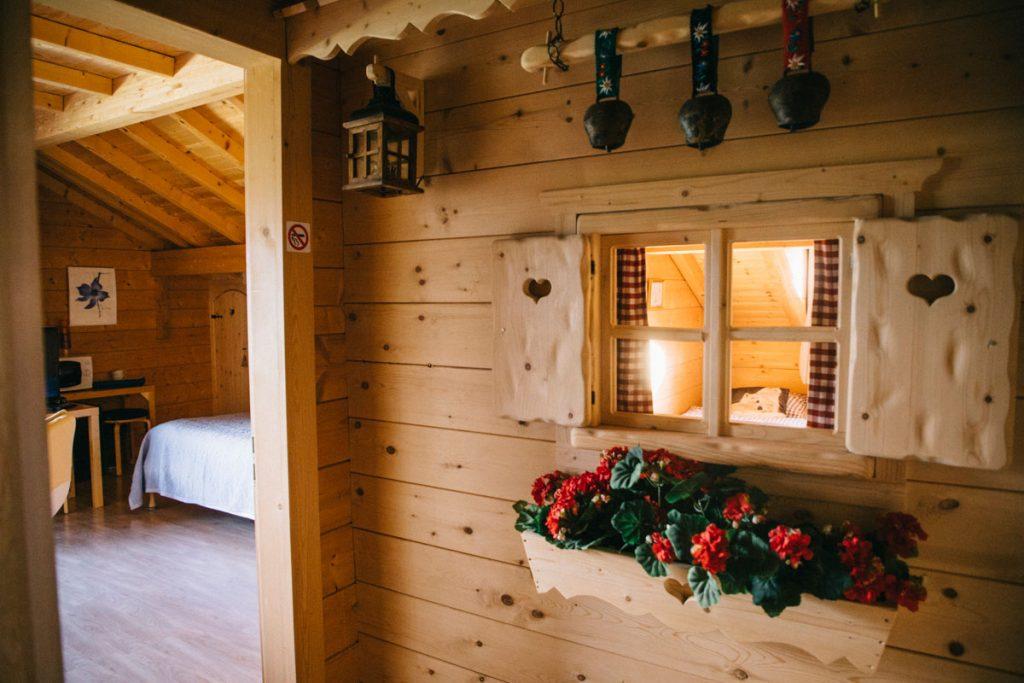 La chambre d'hôte des genevriers  à Foncine-le-Haut. crédit photo : Clara Ferrand- blog Wildroad