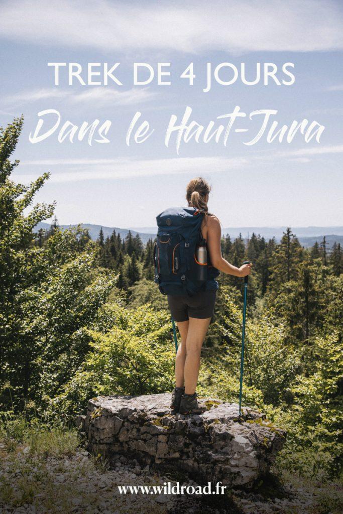 Une randonnée de 4 jours sur l'itinéraire de l'Échappée Jurassienne à travers le parc naturel régional du Haut-Jura. crédit photo : Clara Ferrand - blog Wildroad #hautjura #parcnaturelregional #bourgogne #trekking #randonnnee #hiking