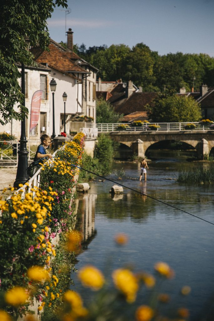 Le petit village d'Essuies où vécu la famille Renoir. crédit photo : Clara Ferrand - blog Wildroad