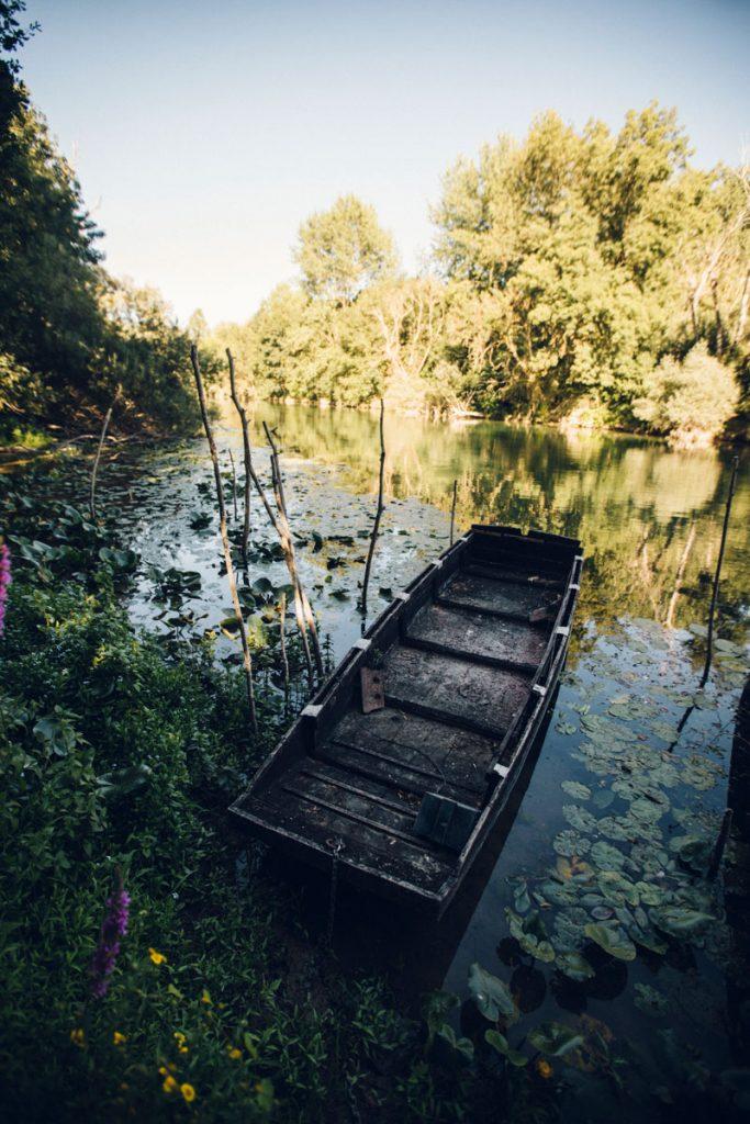 Une balade en parc traditionnelle sur la Seine depuis Nogent-sur-Seine. crédit photo : Clara Ferrand - blog Wildroad
