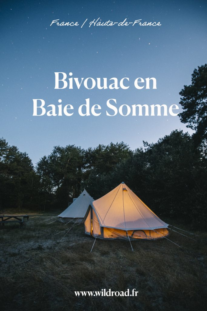 Une idée d'expérience insolite à faire dans la Baie de Somme : dormir en bivouac dans le domaine de Marquenterre. crédit photo : Clara Ferrand - blog Wildroad #bivouac #baiedesomme #cheval #centreequestre #bivouac #hautsdefrance #picardie