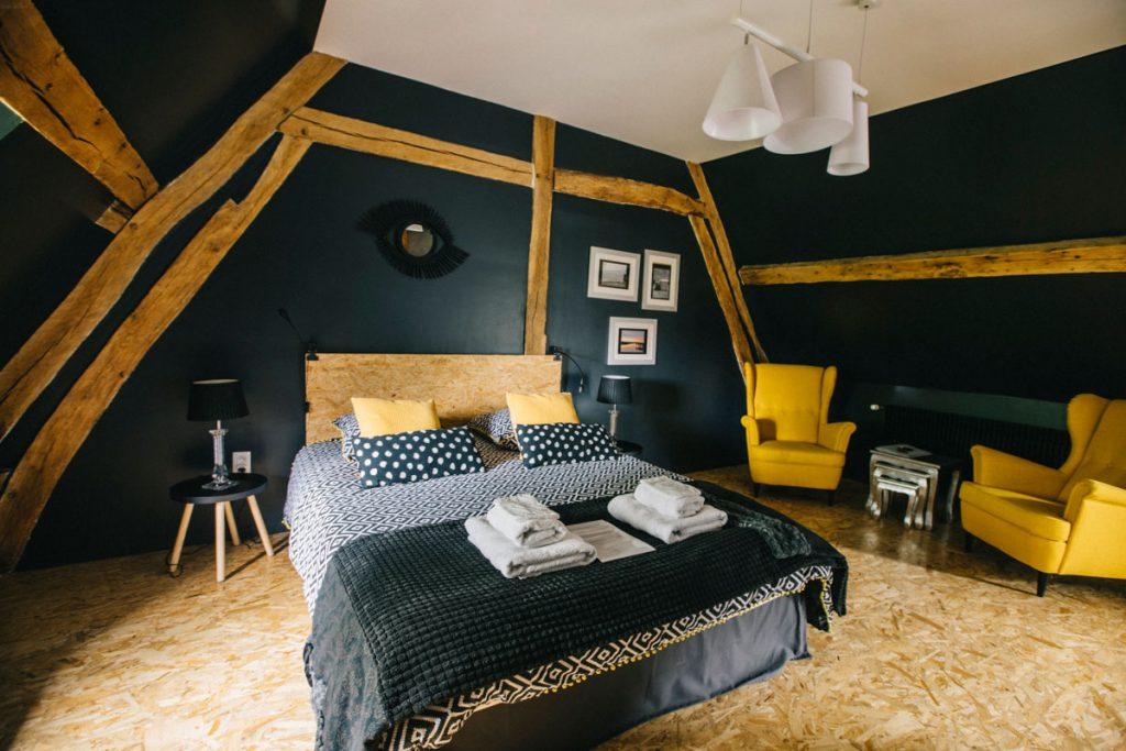 une chambre d'hote autour du crotoy dans le Baie de Somme. crédit photo : Clara Ferrand - blog Wildroad