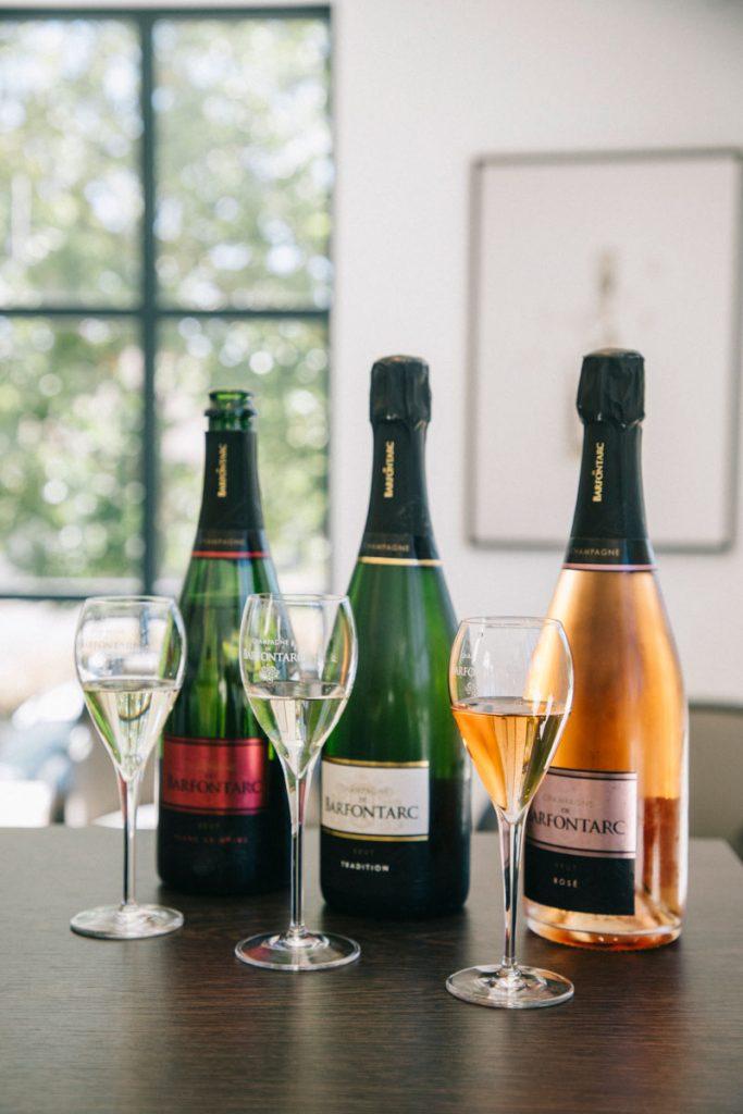 L champagne de la côte des Bar dans l'Aube. Crédit photo : Clara Ferrand - blog Wildroad