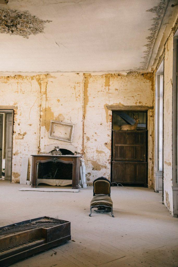 Le chateau de Vaux un endroit pour camper dans l'Aube. crédit photo : Clara Ferrand - blog Wildroad