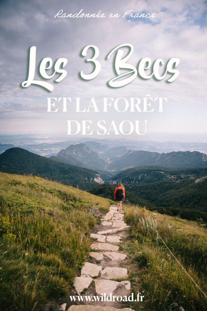 Toutes les informations pratiques pour faire la randonnée des 3 becs dans la vallée de la Drôme. Une randonnée à ne pas manquer en Auvergne-Rhône-Alpes. crédit photo : Clara Ferrand - blog Wildroad #randonnée #hiking #travelblog #france #ladrôme #weekend