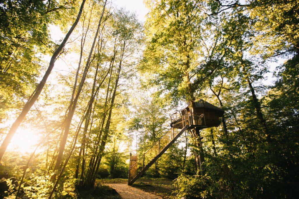 Dormir dans une cabane perchée aux alentours de Troyes. crédit photo : Clara Ferrand - blog Wildroad