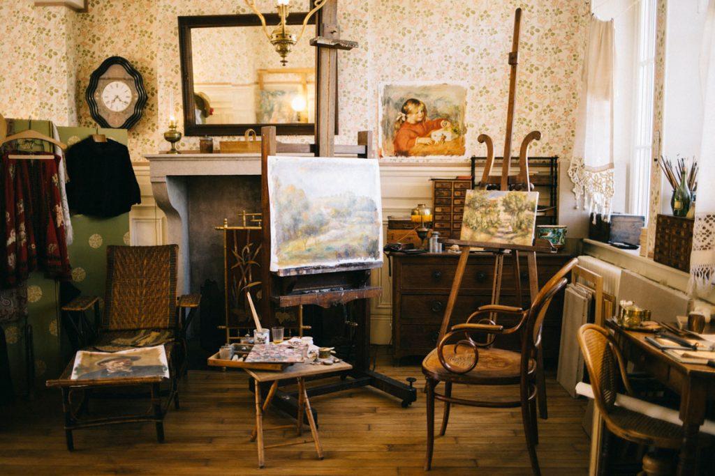 La maison du peintre Renoir dans l'aube à Essoyes. crédit photo : Clara Ferrand - blog Wildroad