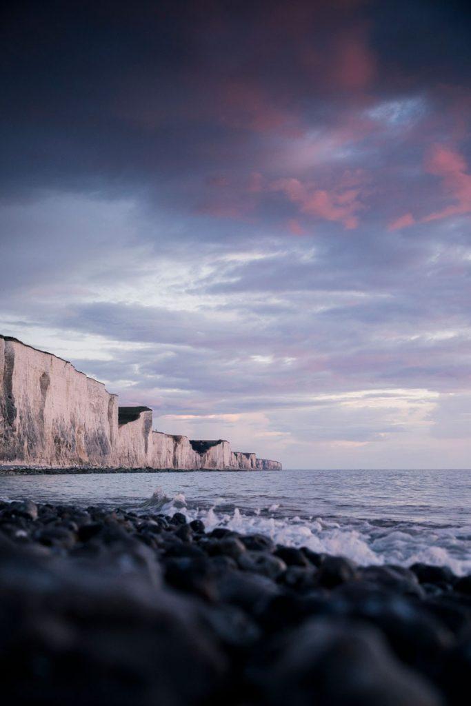 Les falaise de Ault en baie de Somme. crédit photo : Clara ferrand - blog Wildroad
