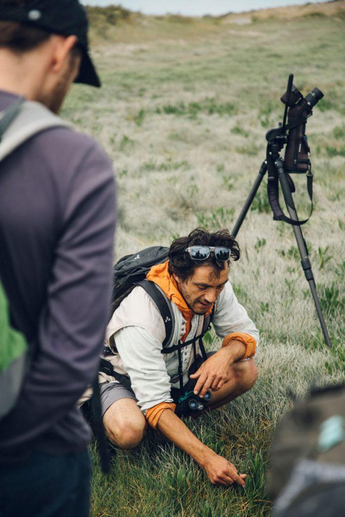 découverte des près salé avec le guide nature maxime en Baie de Somme. crédit photo : Clara Ferrand - blog Wildroad