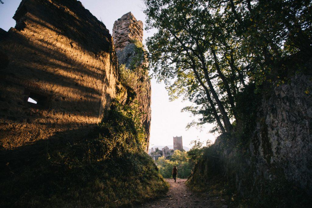 Faire la randonnée des 3 châteaux dans le massif des Vosges à Ribauvillé. crédit photo : Clara Ferrand - blog Wildroad