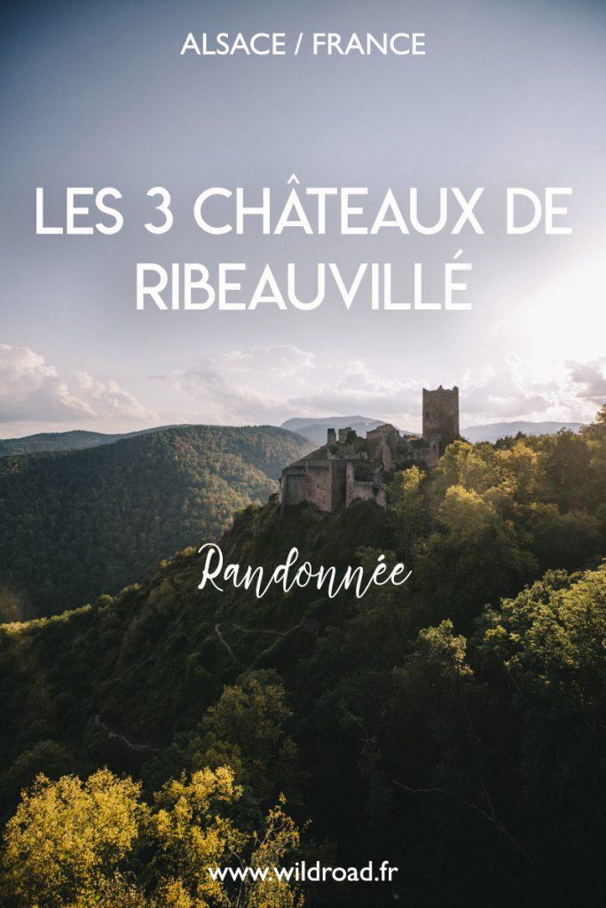 À la découverte des 3 châteaux de Ribeauvillé lors d'une randonnée dans le massif des Vosges. Un incontournable à faire lors d'un week-end en Alsace. crédit photo : Clara Ferrand - blog Wildroad #randonnée #hiking #ribeauville #chateaux #massifdesvosges #alsace