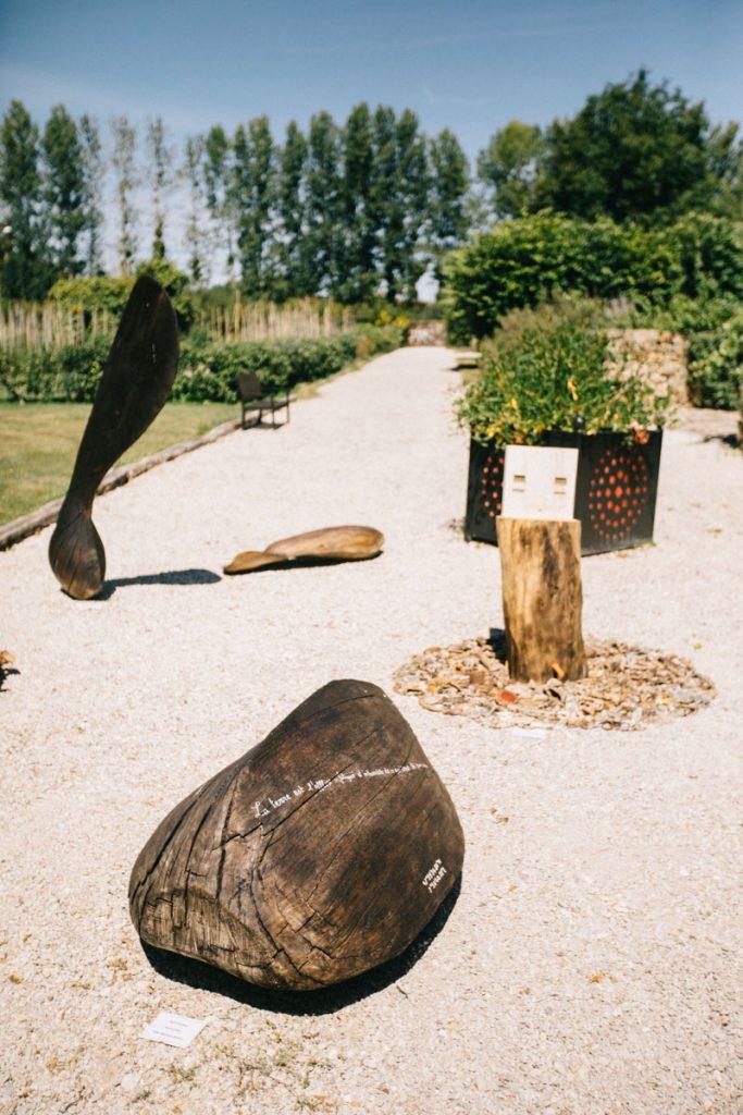 La residence pour les artistes internationaux du jardin botanique de Marnay-sur-Seine. crédit photo : Clara Ferrand - blog Wildroad
