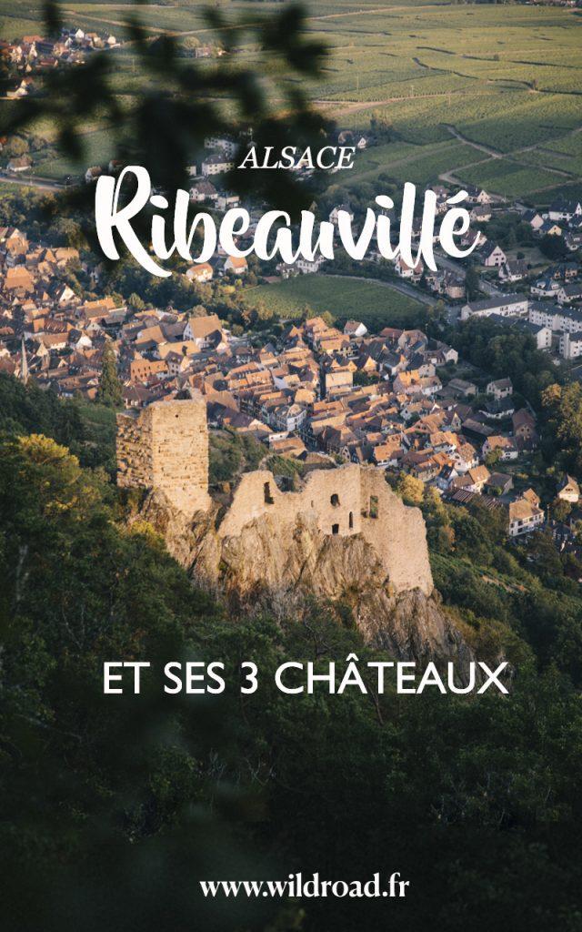 Toutes les informations pratiques pour faire la randonnée des 3 châteaux dans les hauteurs de Ribeauvillé en Alsace. crédit photo : Clara Ferrand - blog Wildroad #alsace #france #weekend #randonnee #hiking #massifdesvosges #châteauribeauvillé