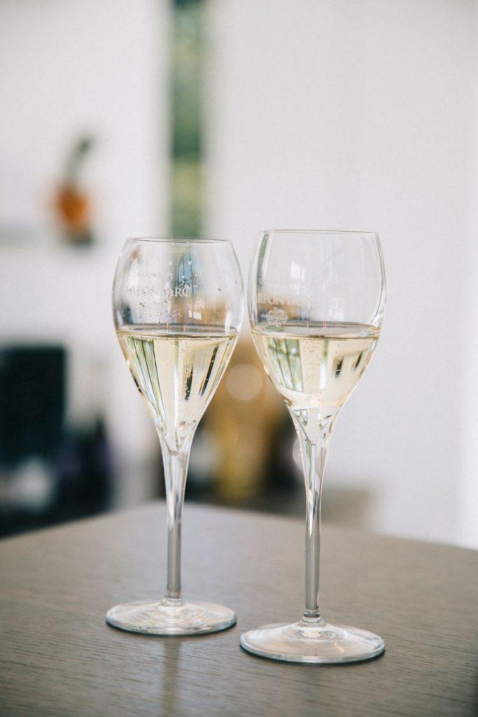 Dégustation de champagne de la côte des Bar après la visite d'une cave. crédit photo : Clara Ferrand - blog Wildroad