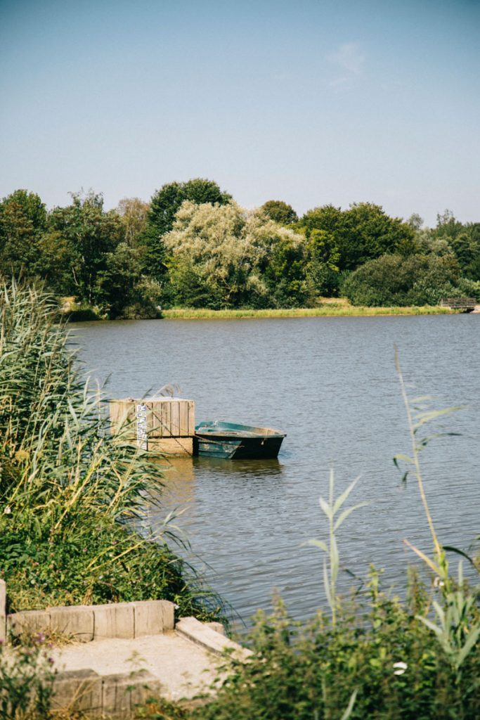 Le lac du malsaucy à côté de belfort. crédit photo : Clara Ferrand - blog Wildroad