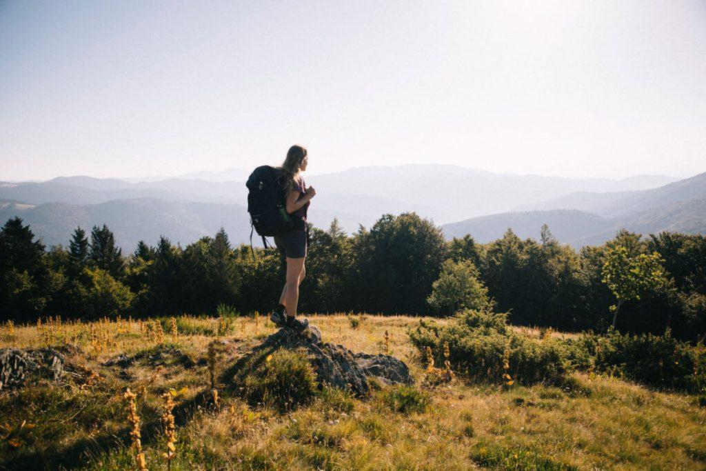 la randonnée itinérante de la grande traversée des Vosges en 3 jours : toutes les infos pratiques. crédit photo : Clara Ferrand - blog Wildroad