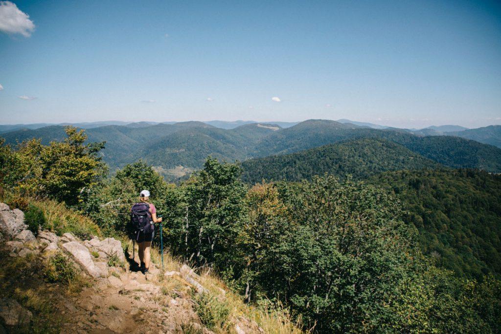Une randonnée autour du ballon d'Alsace en une journée. crédit photo : Clara Ferrand - blog Wildroad