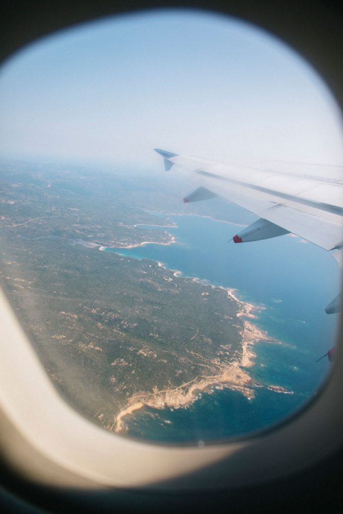 Les aéroports du sud de la Corse pour venir visiter Onifacio. crédit photo : Clara Ferrand - blog Wildroad