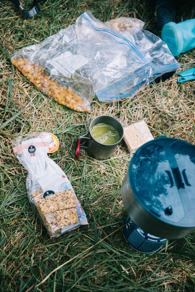 Comment gérer la nourriture pendant un trek de plusieurs jours. crédit photo : Clara Ferrand - blog Wildroad