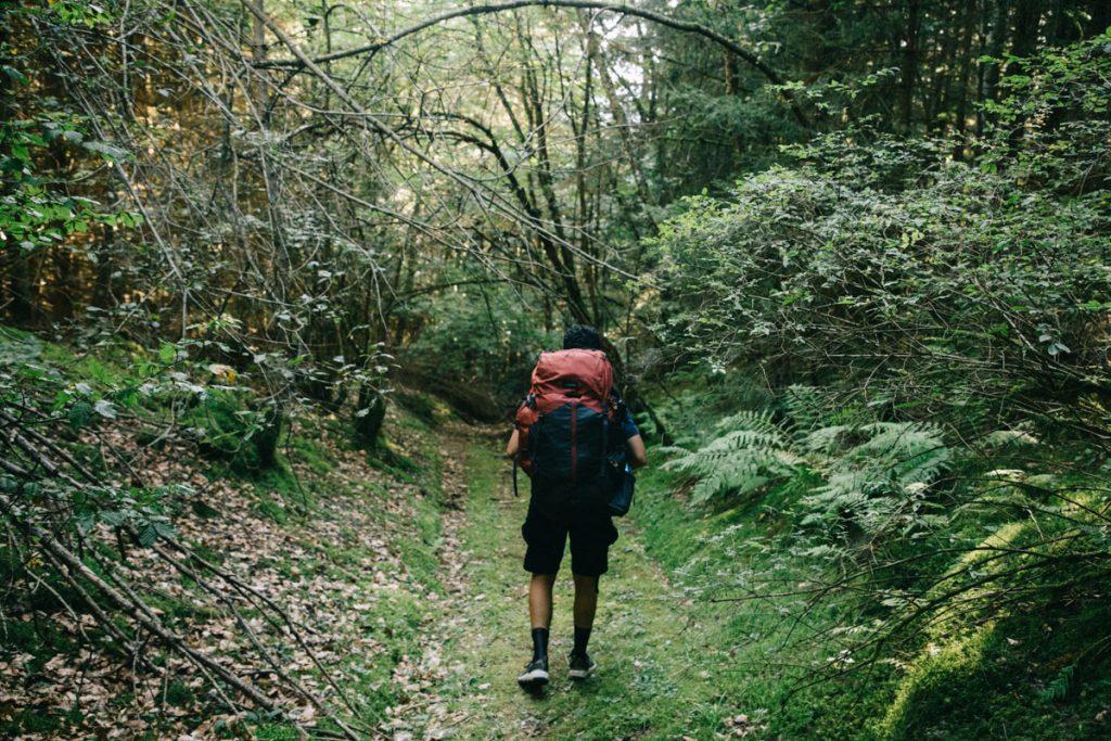 L'itinéraire de la traversée des volcans d'Auvergne à retrouver en intégralité sur Helloways. crédit photo : Clara Ferrand - blog Wildroad