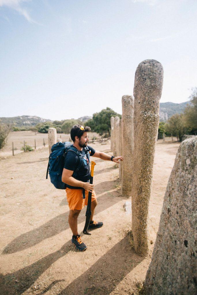 Le site archéologique de Cauria et l'alignement de Renaghju. crédit photo : Clara Ferrand - blog Wildroad