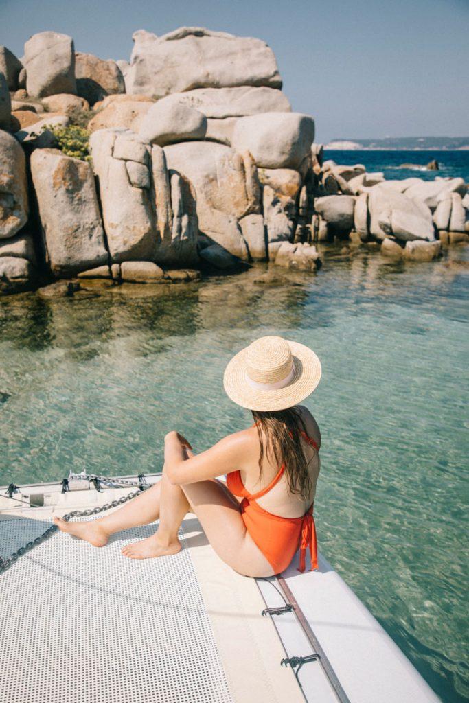 Le beauté des îles Lavezzi dans le sud de la Corse. crédit photo : Clara Ferrand - Blog Wildroad